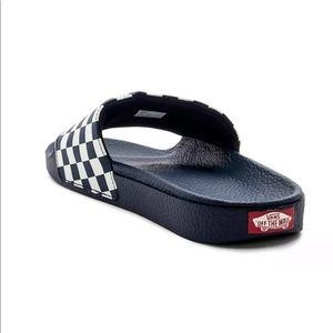 92bceaa3be82 Vans Shoes - Vans Men s Slip-On Checkerboard Slides